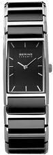 Quarz-(Batterie) Armbanduhren mit 12-Stunden-Zifferblatt und Quadrat für Damen