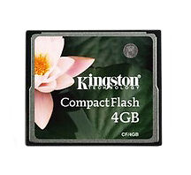 CompactFlash I 4GB Camera Memory Cards for Canon