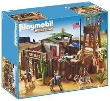 Bâtiments Playmobil sur les westerns