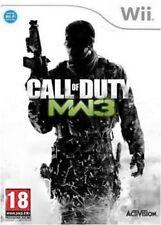 Jeux vidéo manuels inclus Call of Duty 18 ans et plus