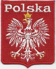 Polska Polonia fútbol Parche/insignia de hierro en Euro Copa 2016