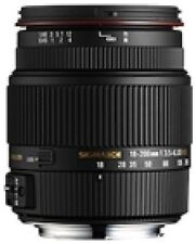 Auto Sigma 18-200mm Focal Camera Lenses