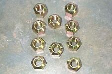 PACK OF 10 WHEEL NUTS TO FIT MASSEY -FERGUSON 165 ,FORD 3000,D/B 990 etc.NEW