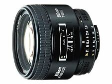 Nikon AF Auto & Manual Focus Camera Lenses 85mm Focal