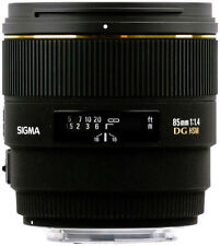 Sigma Fixed/Prime Auto & Manual Telephoto Camera Lenses