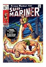 6.0 FN Grade Silver Age Sub-Mariner Comics Not Signed