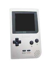Consoles de jeux vidéo argenté pour Nintendo Game Boy