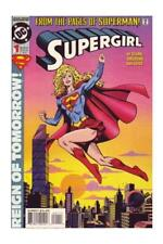 Supergirl Uncertified Not Signed Modern Age Superman Comics