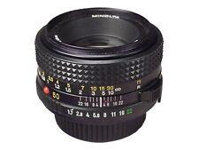 Minolta Fixed/Prime Manual Focus SLR Camera Lenses