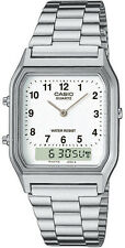 Casio Classic Stainless Steel Band Adult Wristwatches