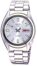 Edelstahl Seiko 5 Armbanduhren für Herren
