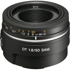 Sony A DSLR Camera Lenses 50mm Focal