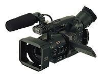 Camcorder mit MiniDV und Standard-Bildschärfe