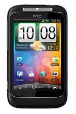 Téléphones mobiles noirs HTC Wildfire