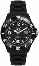 Stainless Steel Case Quartz (Battery) Plastic Band Watches