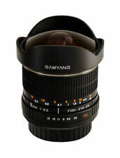 Aspherical DSLR Camera Lenses for Canon 8mm Focal