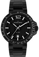 Jacques Lemans Unisex Armbanduhren mit Mineralglas