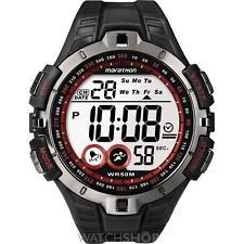 Timex Stainless Steel Case Men's Digital Wristwatches
