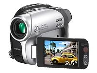 DVD Camcorders with Touch-Screen