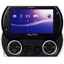 Consoles de jeux vidéo noirs PSP Go