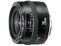 Canon EF f/2 DSLR Wide Angle Camera Lenses