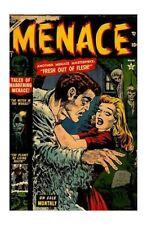 Frankenstein Golden Age Horror & Sci-Fi Comics