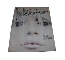 Interview Monthly Fashion 2000-Now Magazine Back Issues
