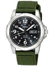 Grüne Seiko analoge Armbanduhren