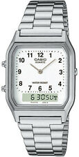 Casio Adult Silver Case Wristwatches