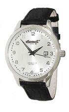 Polierte mechanisch - (automatische) Armbanduhren mit Datumsanzeige für Herren