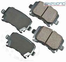 Akebono EUR1348 Rear Ceramic Brake Pads