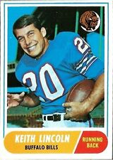 Topps Original Single Vintage (Pre-1970) Football Cards