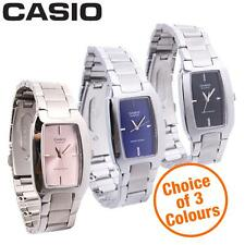Stainless Steel Band Rectangle Analogue Wristwatches