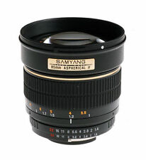 Aspherical DSLR Camera Lenses 85mm Focal