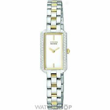 Citizen Stainless Steel Case Women's Adult Wristwatches