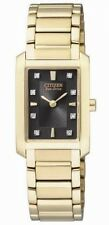 Citizen Stainless Steel Case Quartz (Battery) Wristwatches