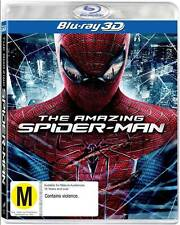 Spider 3D M Rated DVDs & Blu-ray Discs