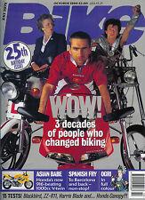 Bike Oct 96  Harris Magnum ZZ-R1100 CBR1000 GSX-R1100 CBR1100XX Moto Guzzi 1100