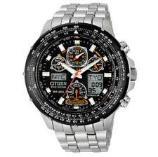Sportliche Citizen Eco-Drive Armbanduhren