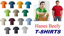Hanes - Beefy-T - 5180 T- shirt More than 15 Colors S-XXL