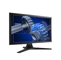ViewSonic LCD Computer Monitors with Built - In Speakers