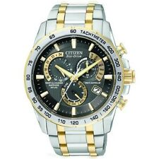 Citizen Stainless Steel Band Men's Round Wristwatches