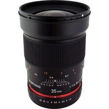 Manual Focus f/1.4 Wide Angle Camera Lenses