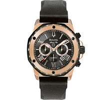 Bulova Stainless Steel Band Men's Watches with Chronograph