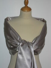 Satin Bridal Stole Jackets for Formal Ocassions