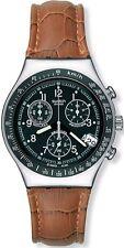 Runde bis 30 m (3 ATM) wasserbeständige Swatch Armbanduhren mit Datumsanzeige