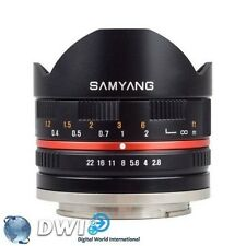 Samyang Manual Focus Camera Lenses for Sony