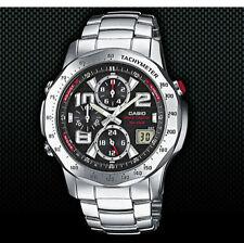 Analoge Casio Armbanduhren mit Chronograph für Erwachsene