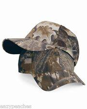 Outdoor Cap NEW Mens Womens Adjustable Size Cool Mesh Camo Hat Mossy Oak Classic