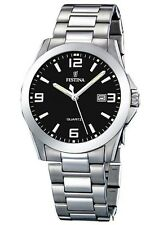 Festina Armbanduhren mit Edelstahl-Armband und Mineralglas